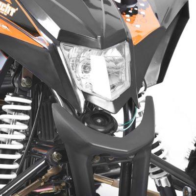 HECHT 54125 BLACK – BENZINMOTOROS QUAD 125 CCM